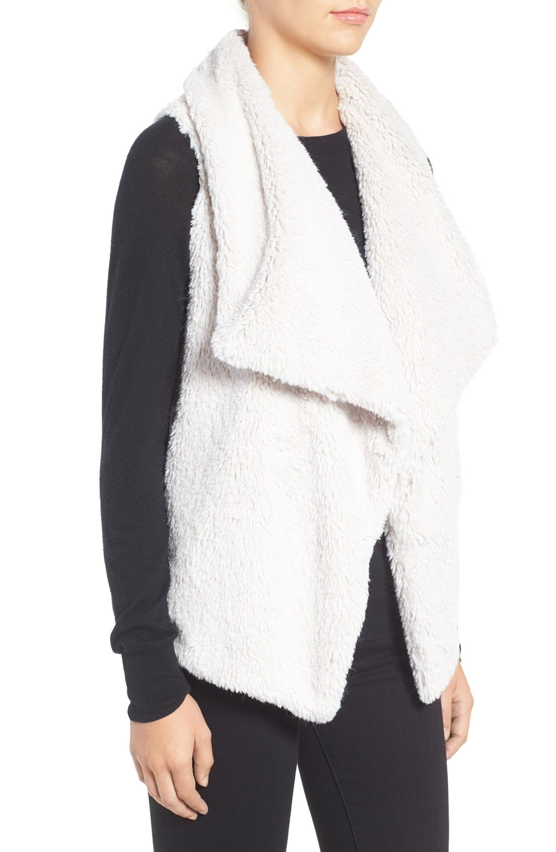 Alternate Image 3  - BB Dakota Albion Wubby Faux Fur Vest