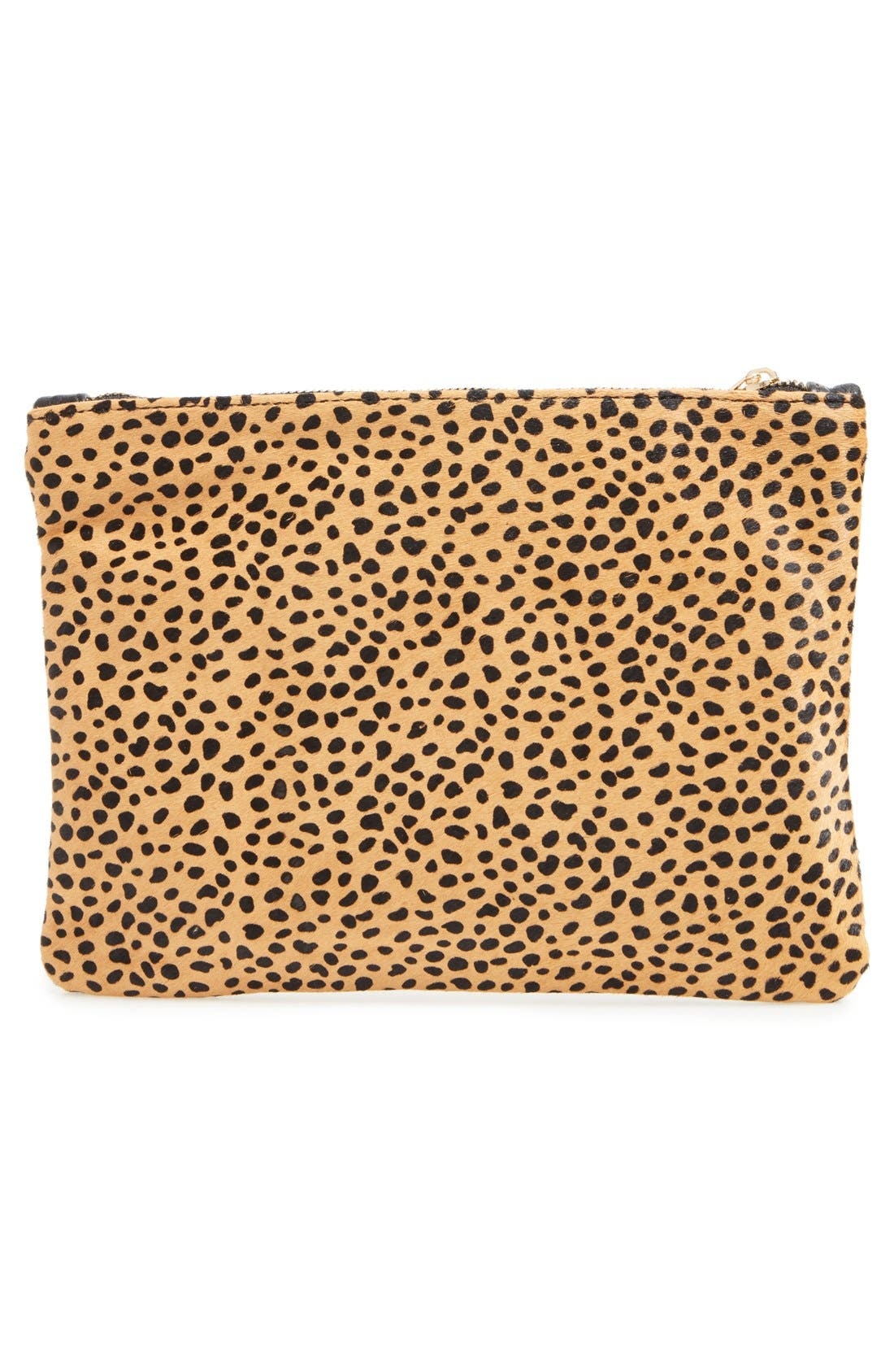Alternate Image 3  - Sole Society 'Dolce' Genuine Calf Hair Clutch