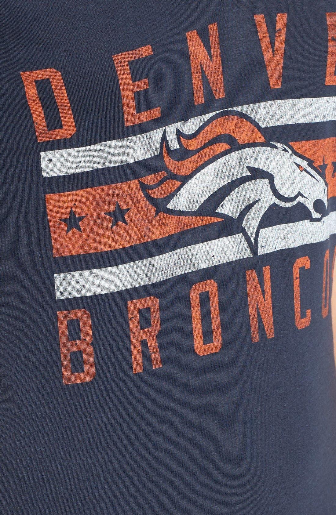 Alternate Image 5  - 47 Brand 'Denver Broncos - Flanker Backer' Graphic Tee