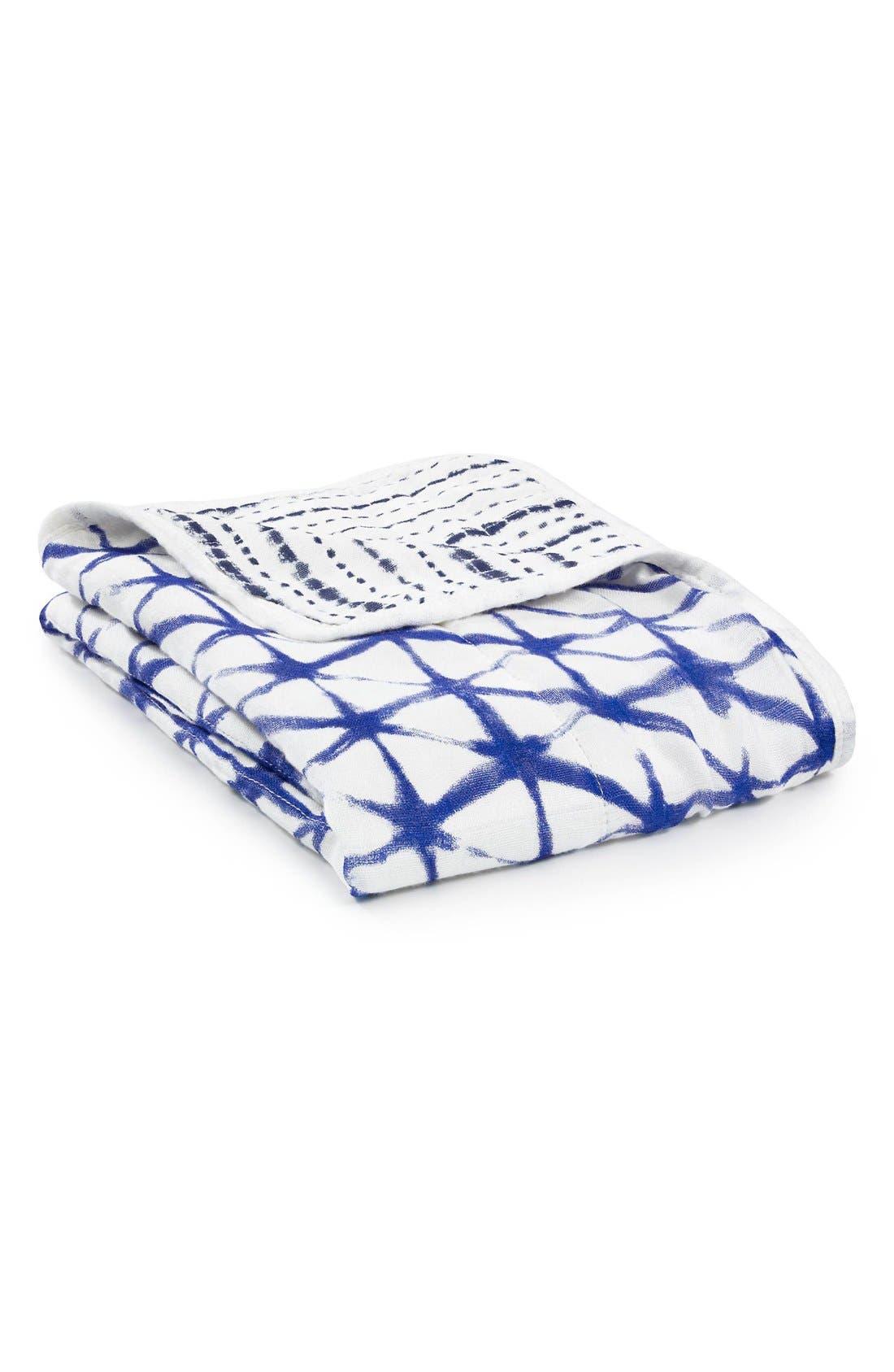 aden + anais Silky Soft Muslin Stroller Blanket