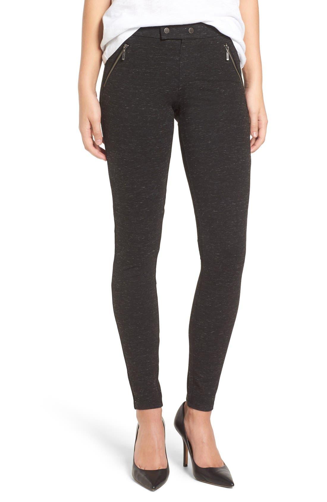 Alternate Image 1 Selected - Wit & Wisdom Ponte Knit Pants (Regular & Petite) (Nordstrom Exclusive)