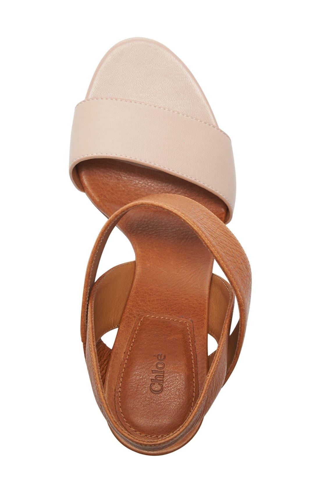 Alternate Image 3  - Chloé Mia Block Heel Sandal (Women)