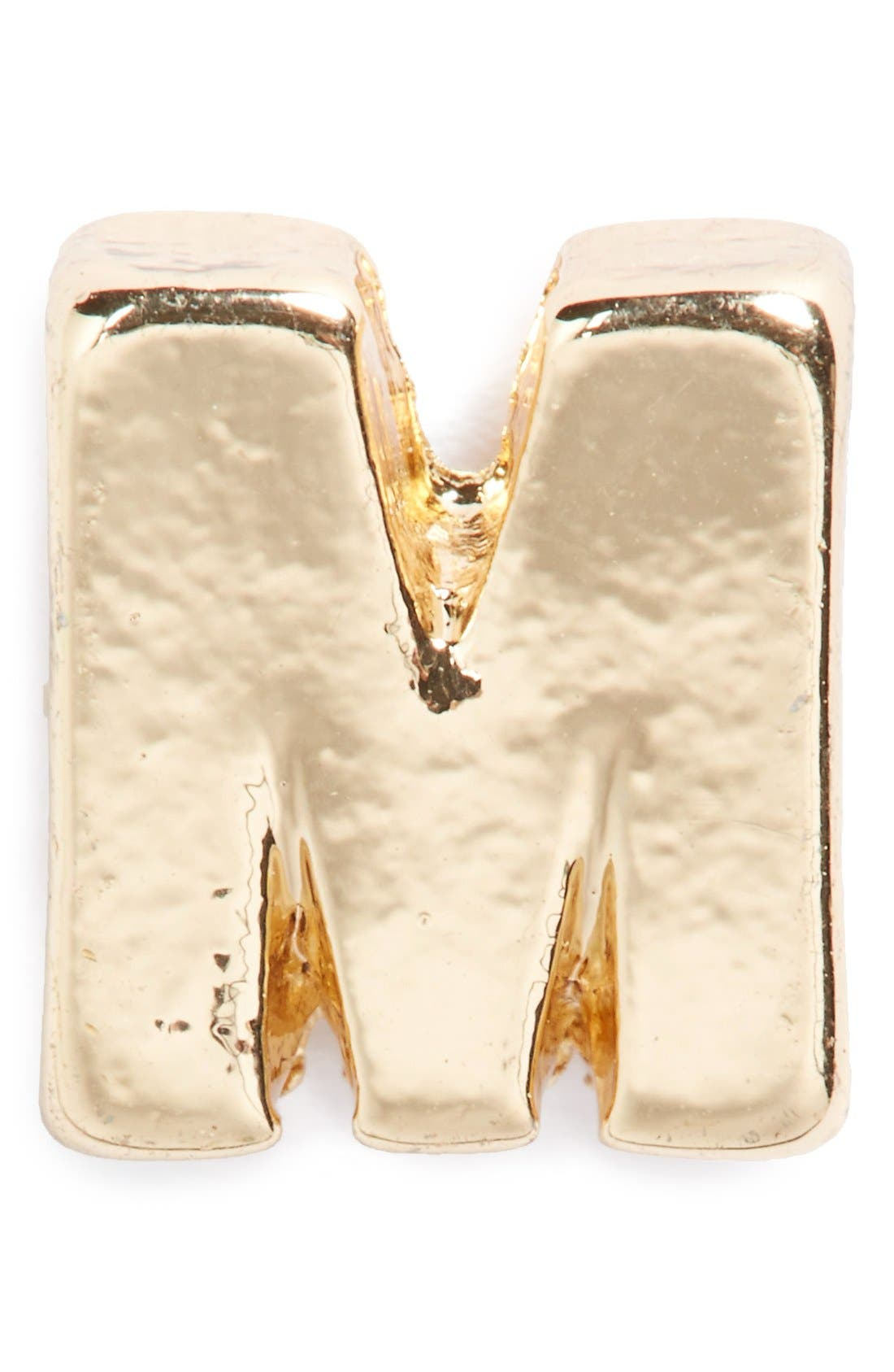 Alternate Image 1 Selected - Berry Goldtone Letter Pin