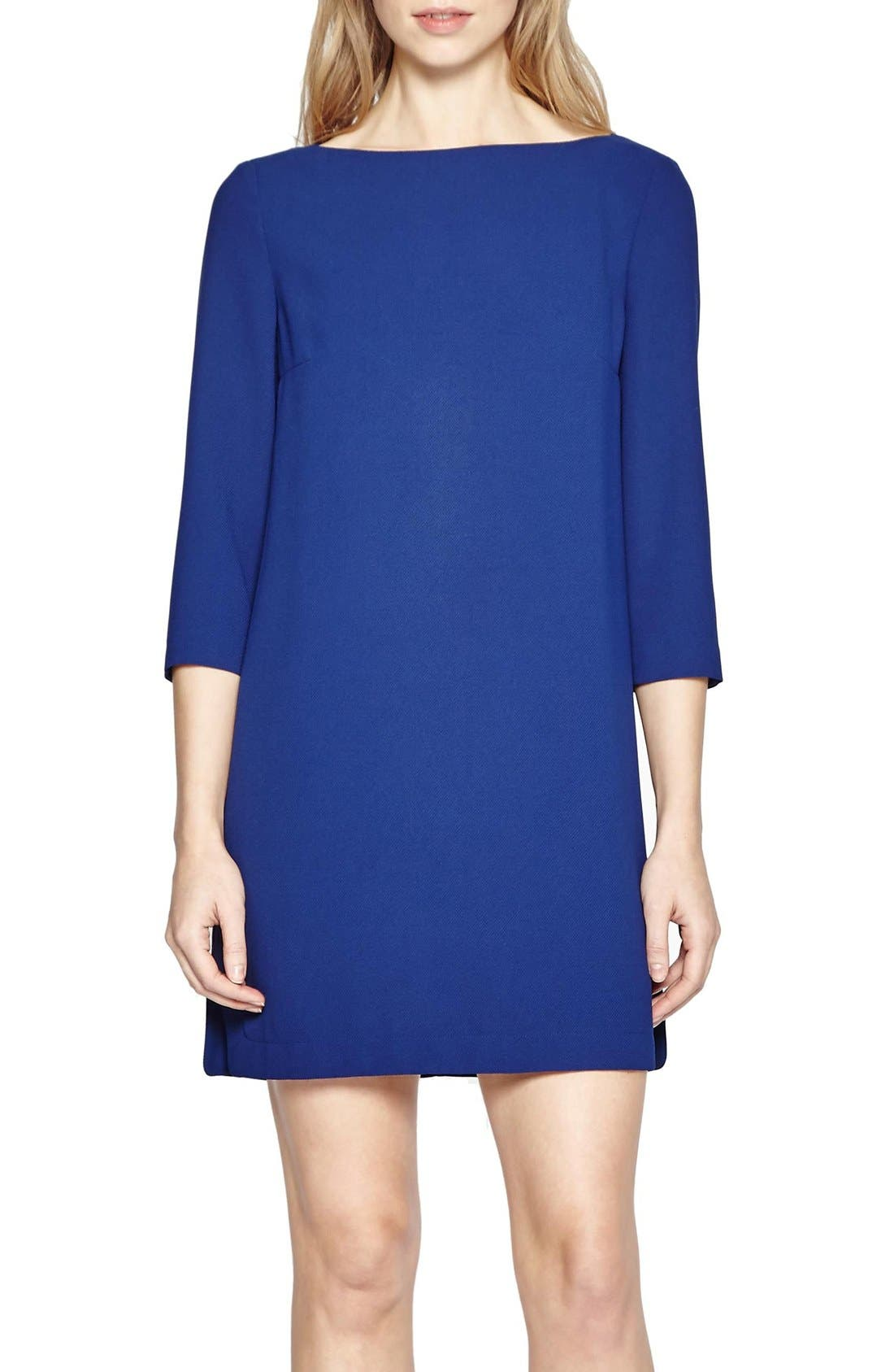 Main Image - French Connection Arrow Crepe Shift Dress
