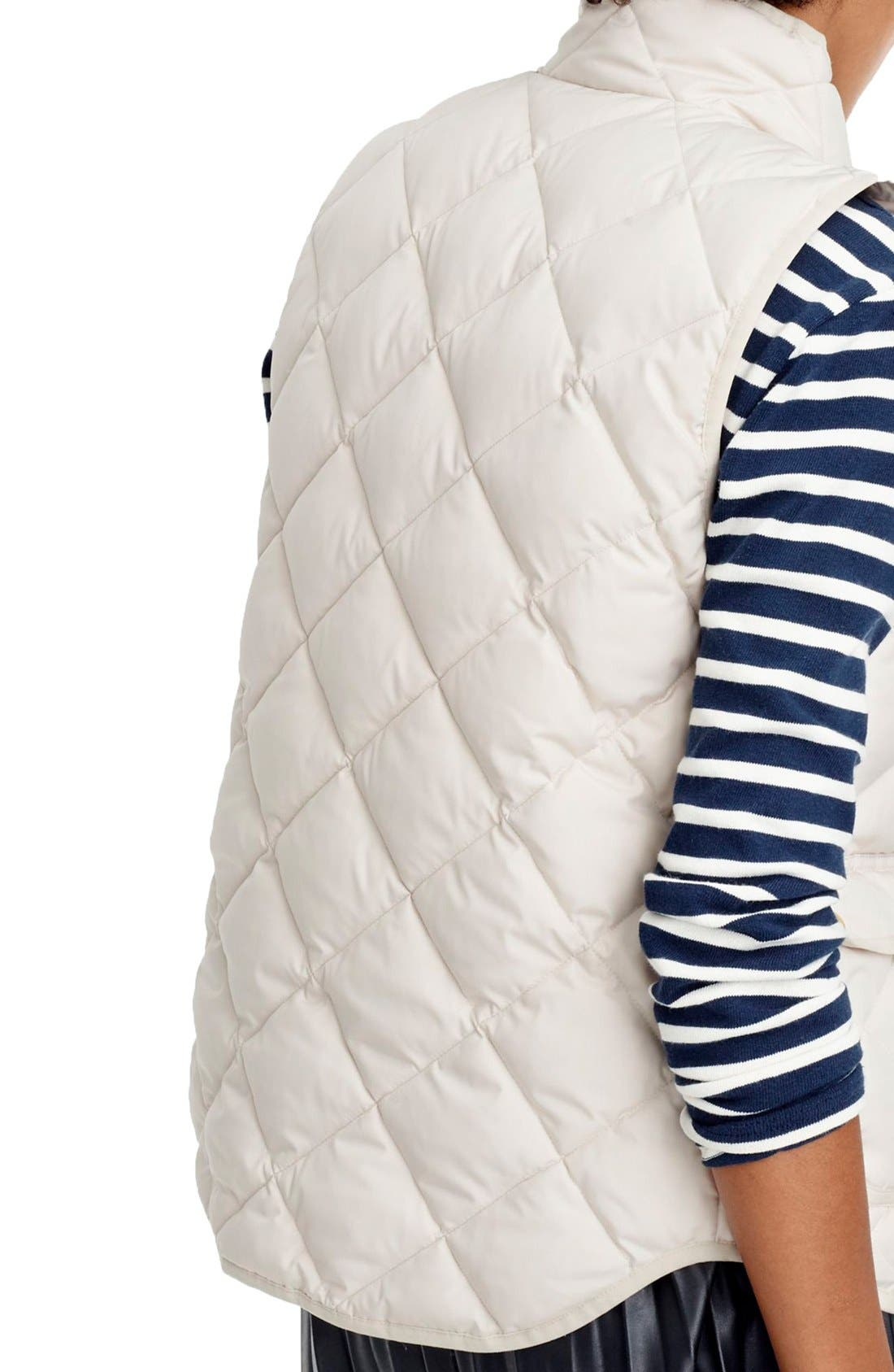 Alternate Image 2  - J.Crew Excursion Quilted Vest