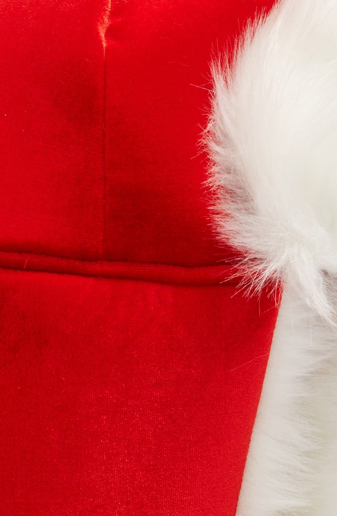 Alternate Image 2  - Collection XIIX Santa Trapper Hat with Faux Fur Trim
