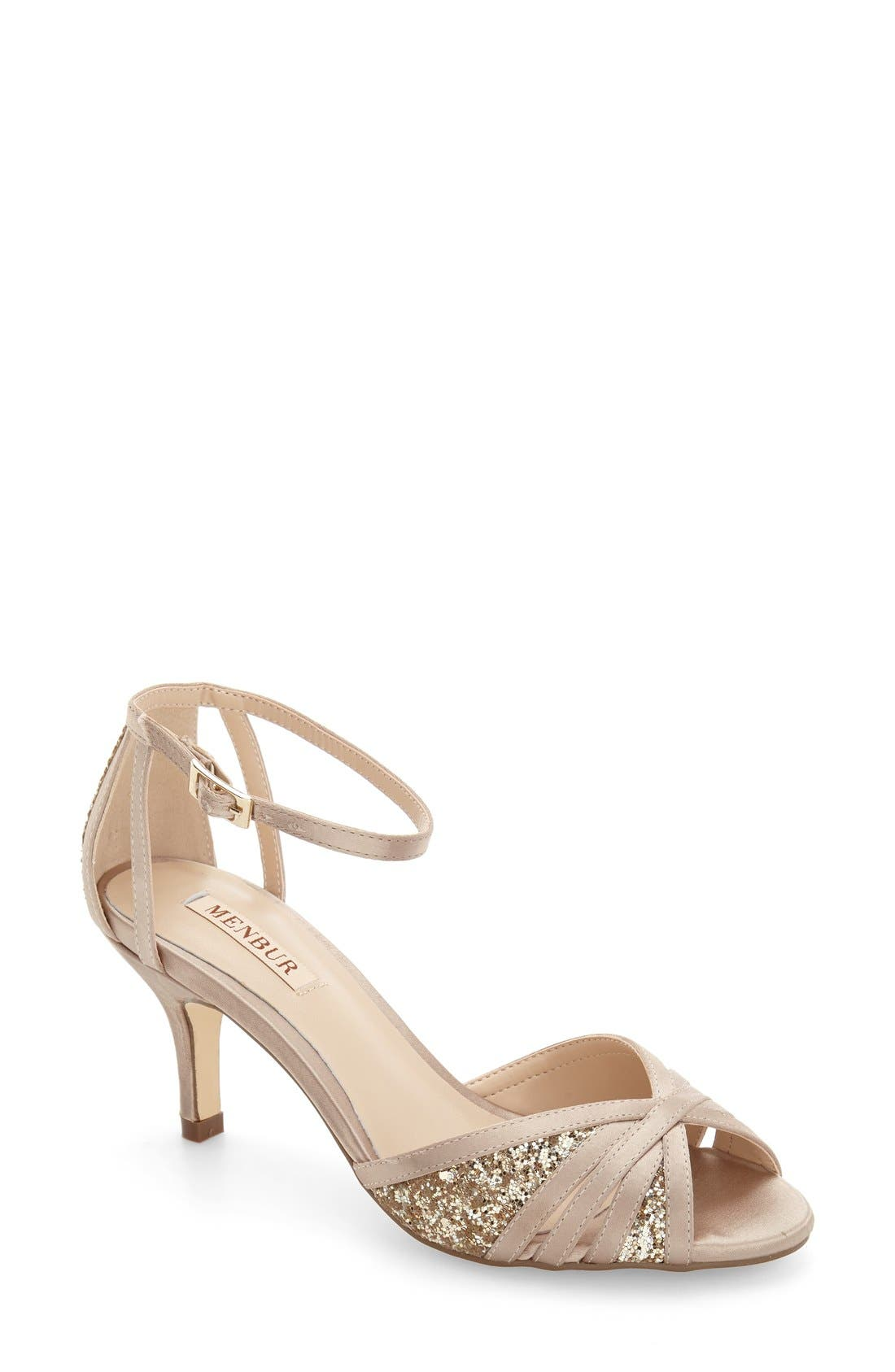 MENBUR Cesano Ankle Strap Sandal