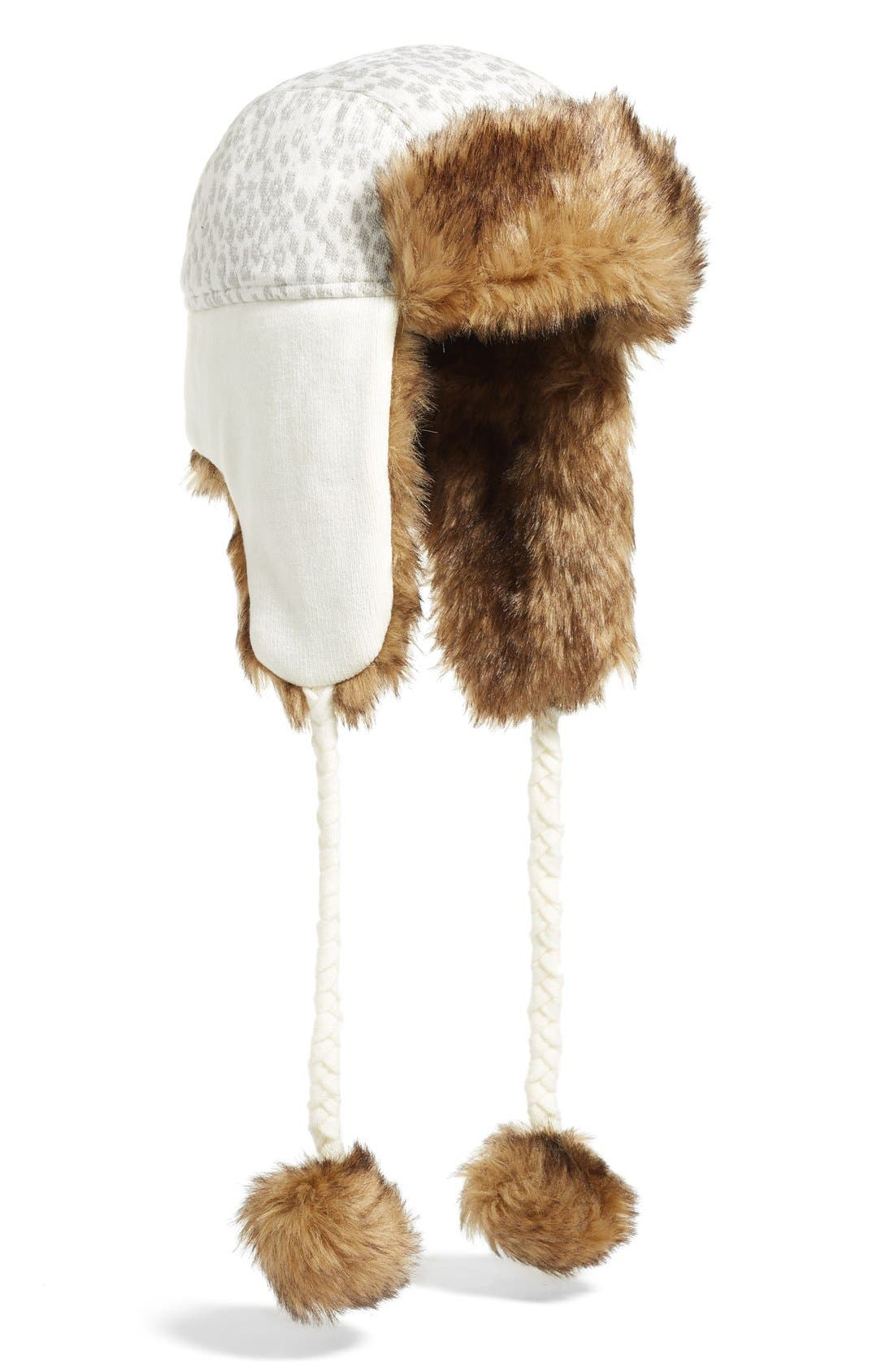 Alternate Image 1 Selected - Helly Hansen Knitted Faux Fur Trapper Hat