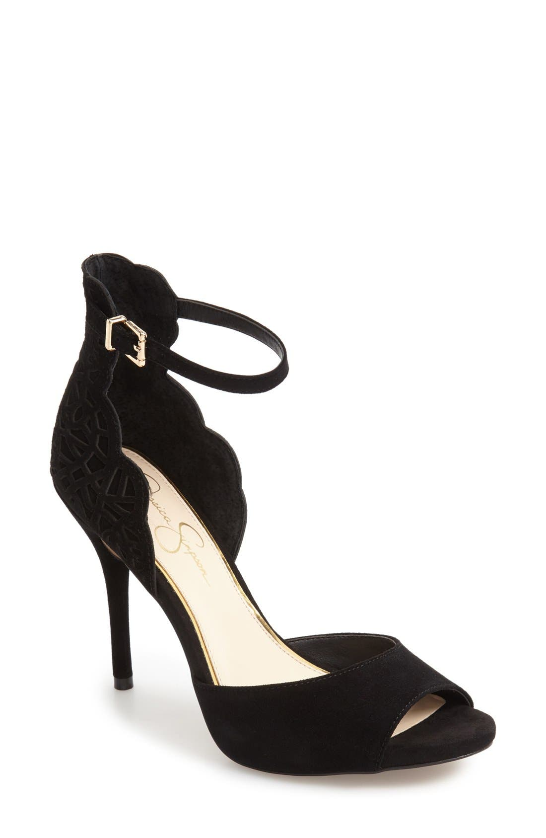 JESSICA SIMPSON Bellona Ankle Strap Sandal