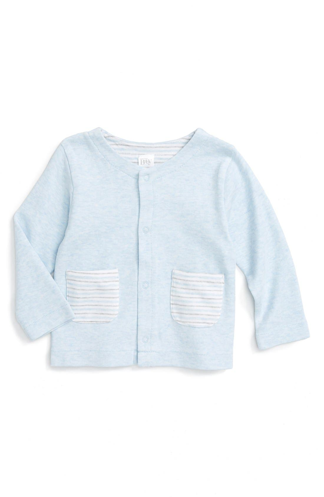 Nordstrom Baby Patch Pocket Sweater (Baby)