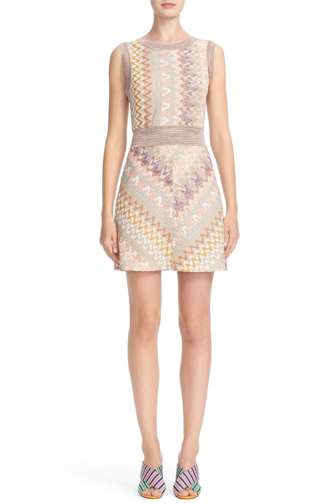 Alternate Image 1  - Missoni Metallic Knit Dress