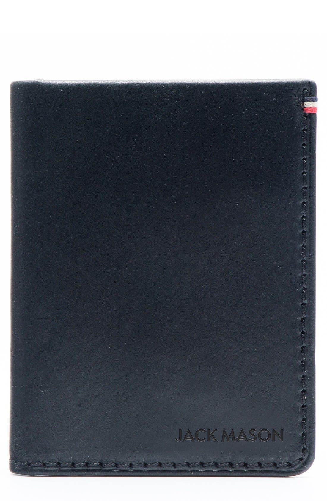 Main Image - Jack Mason Core Leather Wallet