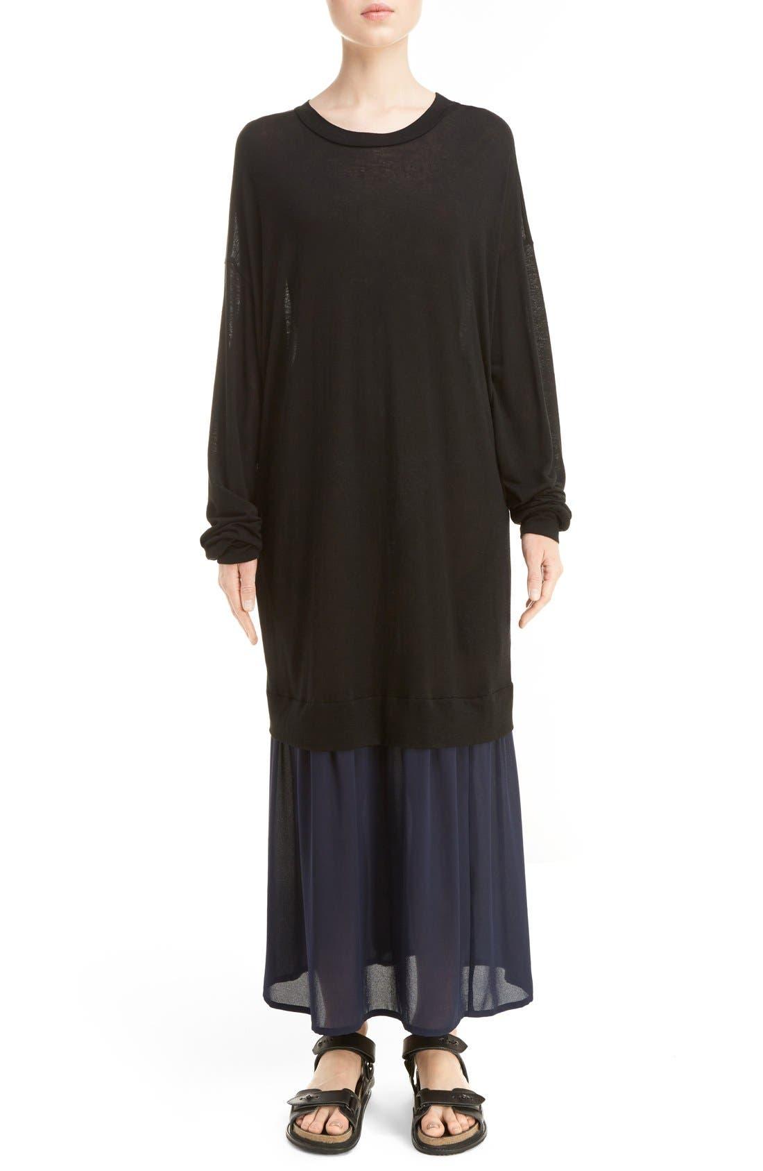 Y'S BY YOHJI YAMAMOTO O-Sweat Dress
