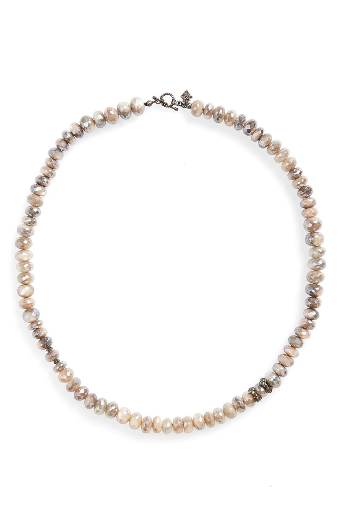 ARMENTA Old World Mystic Bead & Diamond Collar