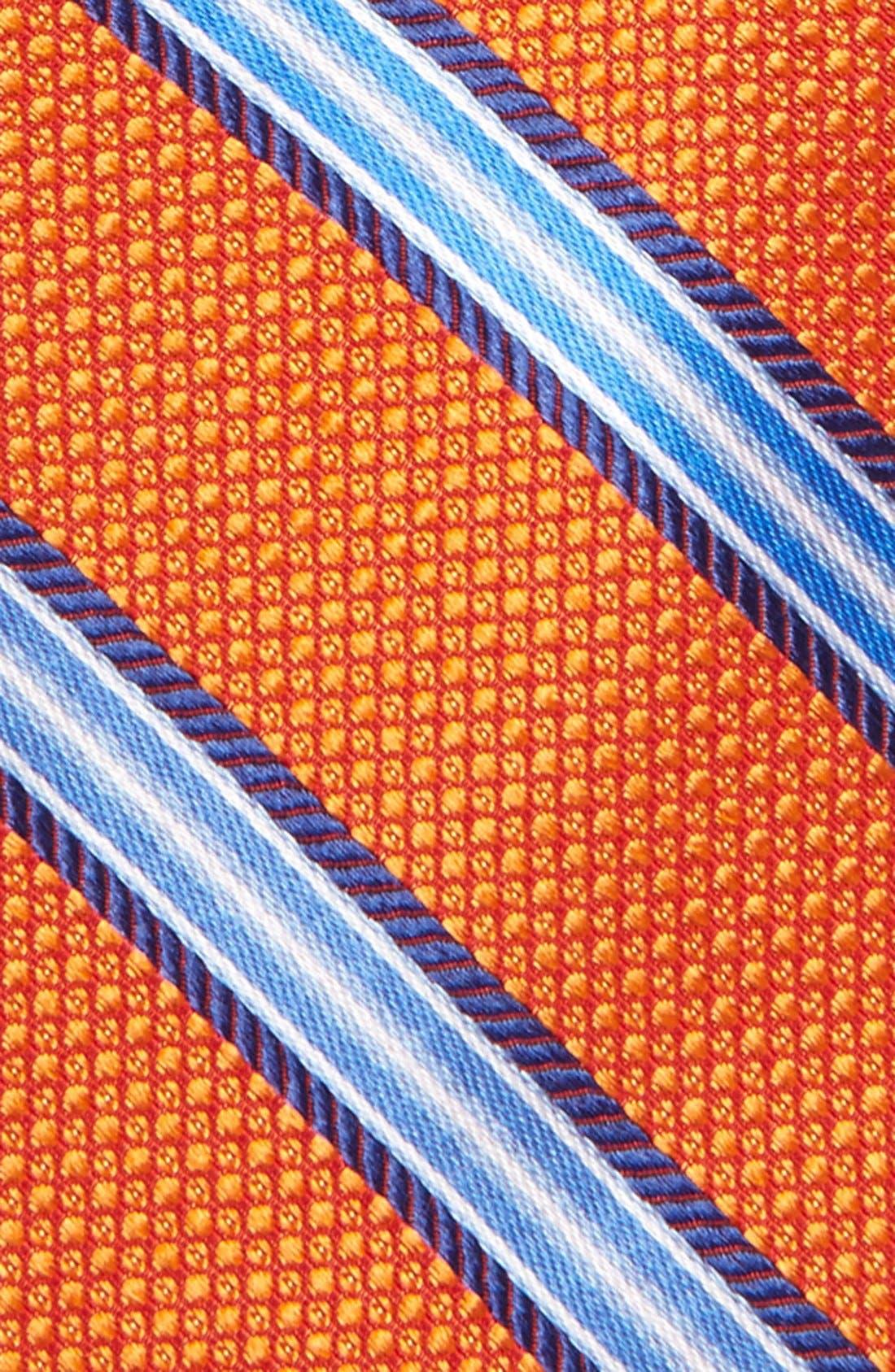 Alternate Image 3  - Michael Kors Stripe Silk Tie (Big Boys)
