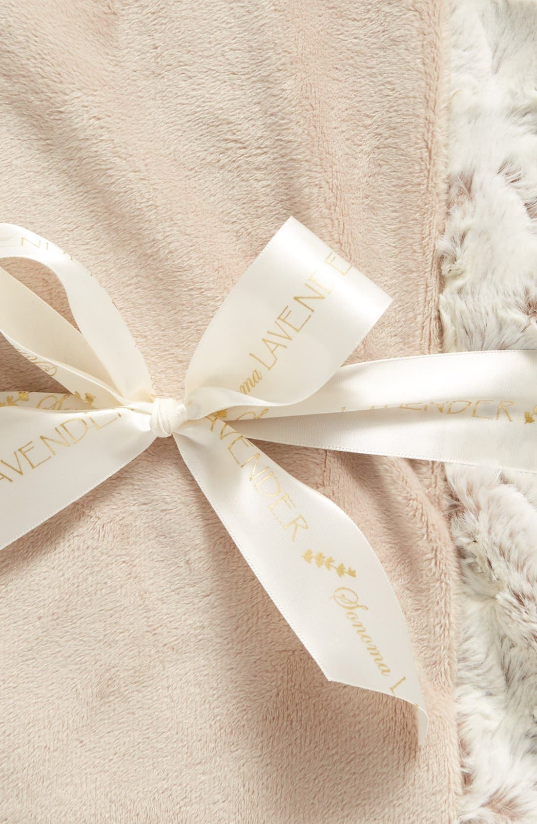 Alternate Image 2  - Sonoma Lavender Taupe Luxe Blankie (Limited Edition) (Nordstrom Exclusive)