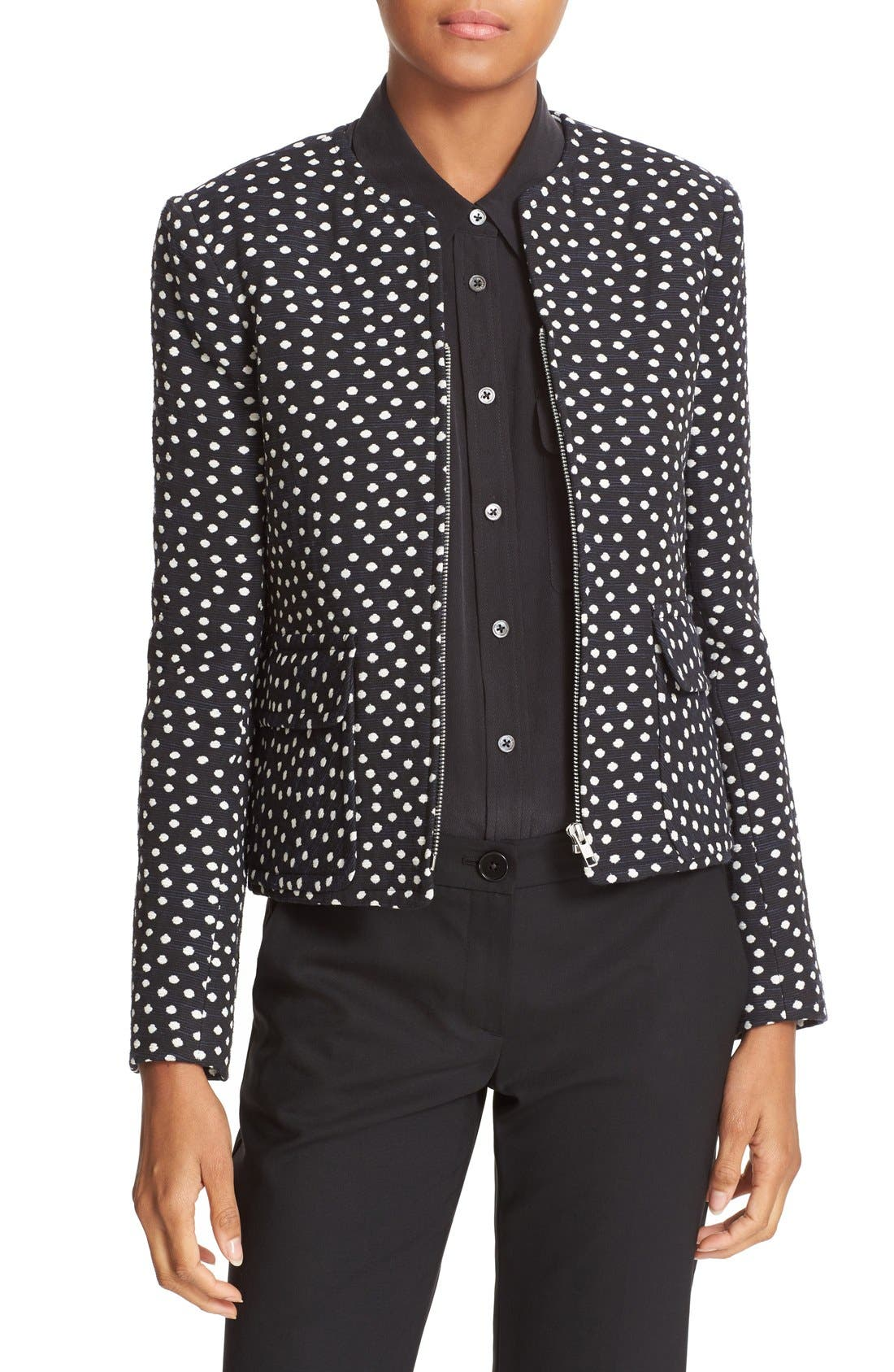HELENE BERMAN Polka Dot Jacket