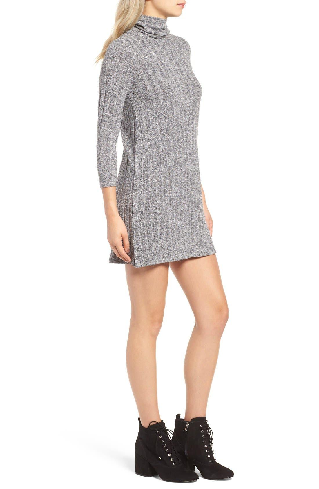 Alternate Image 3  - O'Neill 'Jovana' Mock Neck Shift Dress