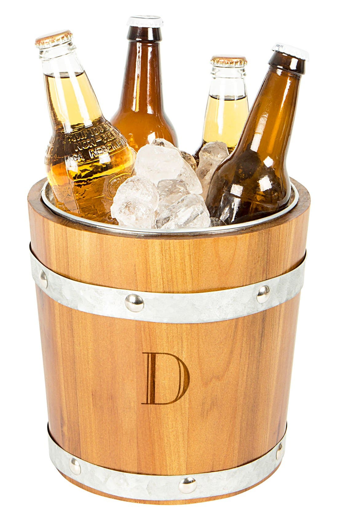 Alternate Image 5  - Cathy's Concepts Rustic Monogram Ice Bucket
