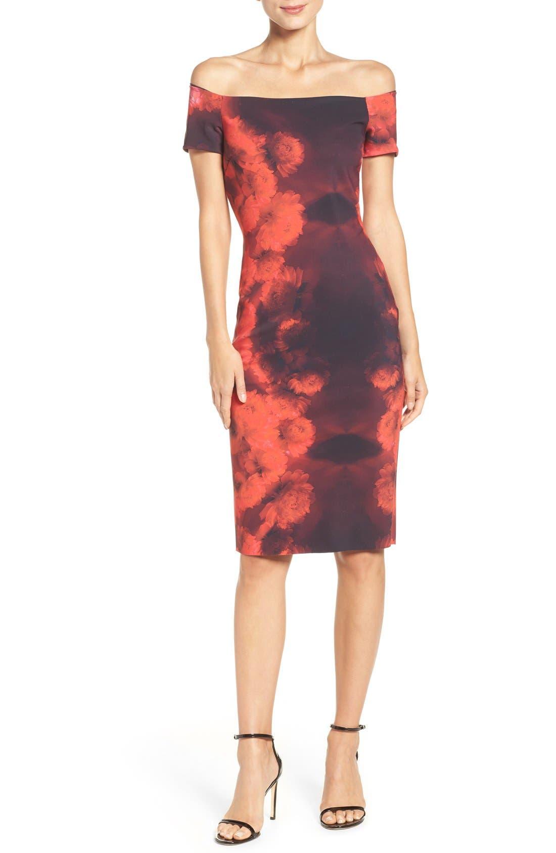 Alternate Image 4  - Chiara Boni La Petite Robe Lyris Print Sheath Dress