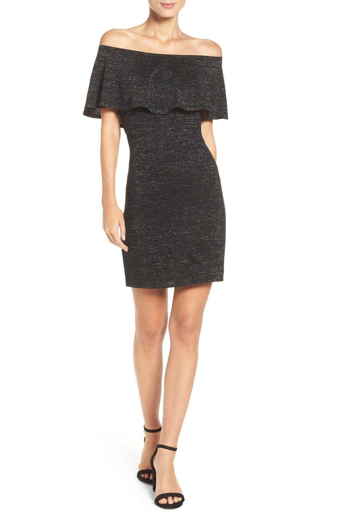 Alternate Image 4  - trina Trina Turk Off the Shoulder Dress