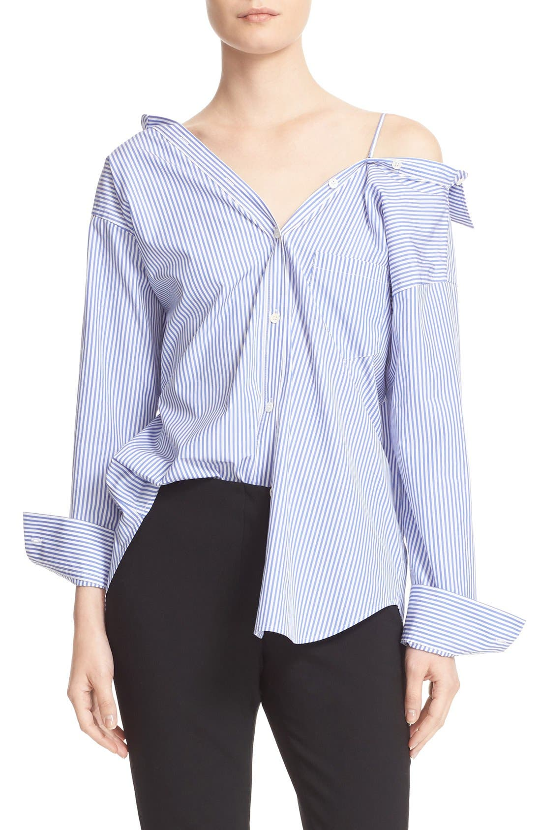 Alternate Image 1 Selected - Theory Tamalee Off the Shoulder Shirt