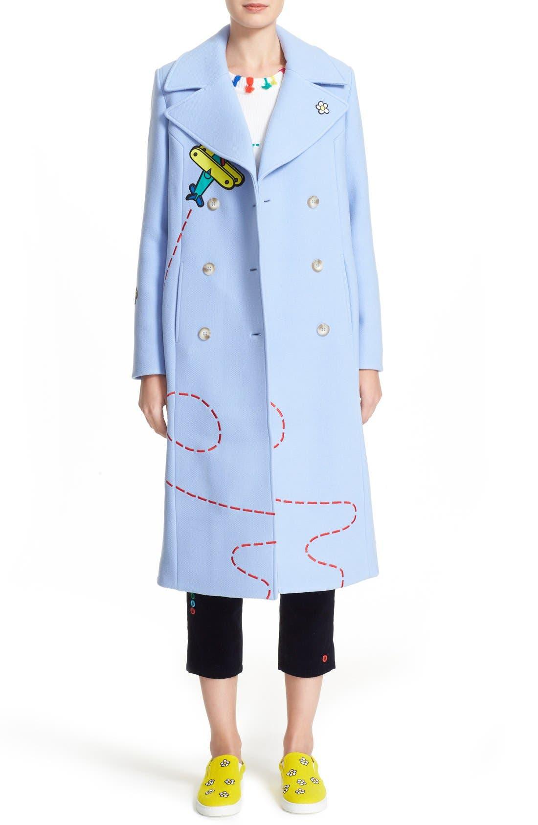 Alternate Image 1  - Mira Mikati 'Fly Away Sky Rocket' Coat
