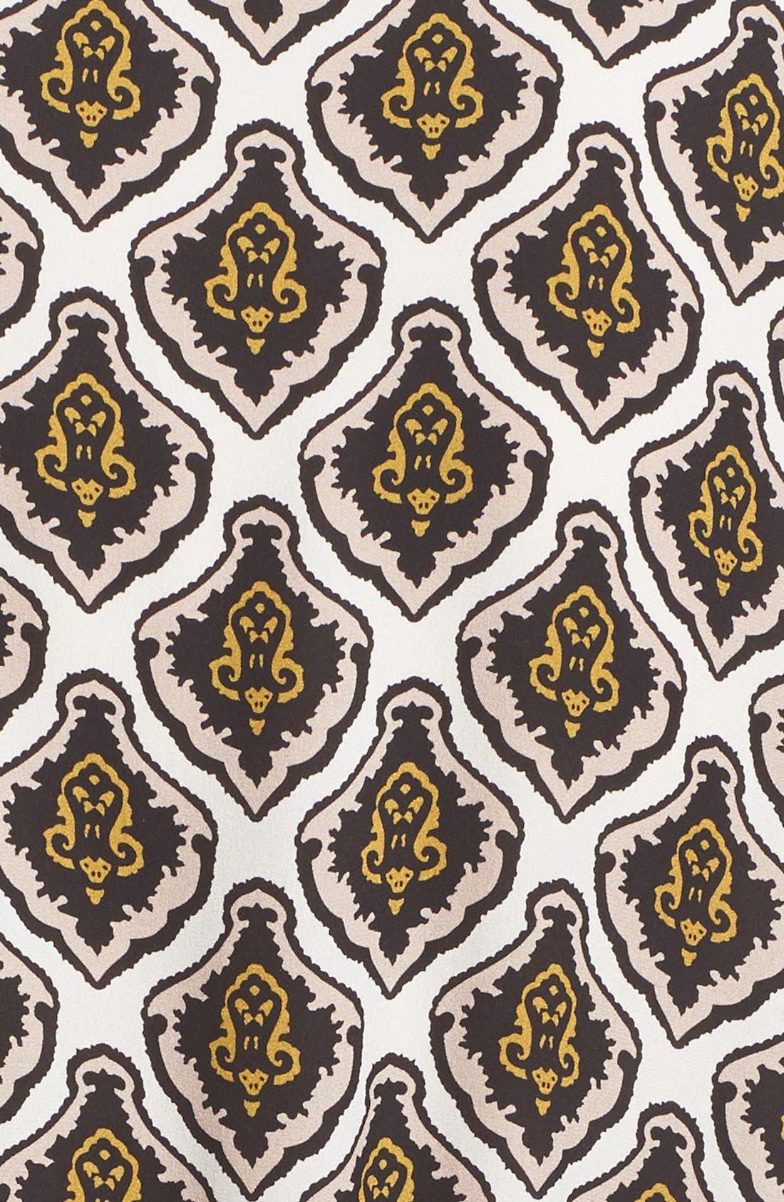 Alternate Image 5  - A.L.C. Calder Print Silk Fit & Flare Dress