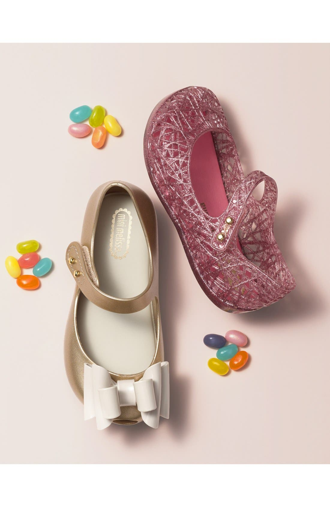 Alternate Image 7  - Mini Melissa Ultragirl Sweet III Mary Jane Flat (Walker & Toddler)