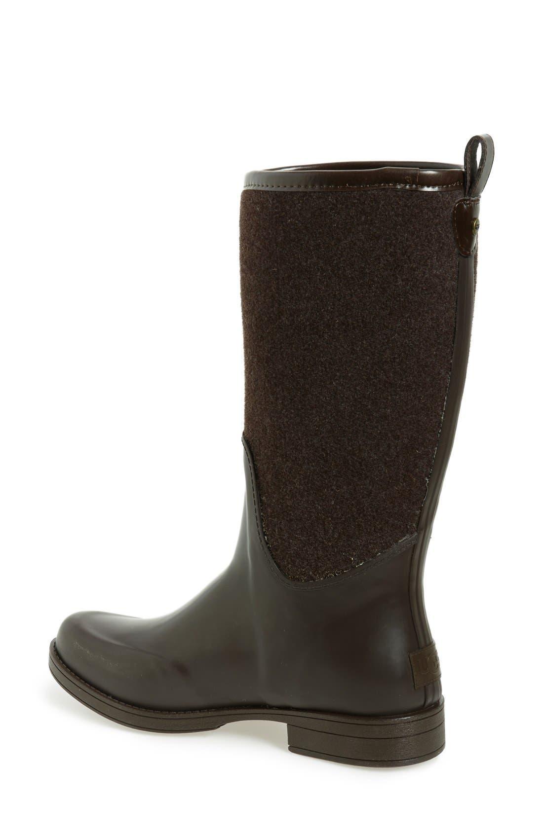 Alternate Image 2  - UGG® Reignfall Waterproof Rain Boot (Women)