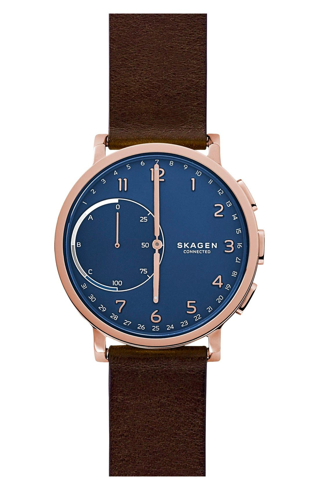 Skagen Hagen Connected Hybrid Smart Watch, 42mm