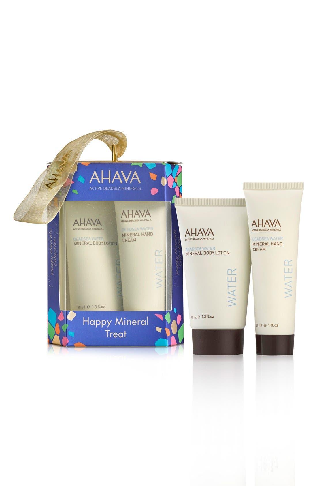 AHAVA Happy Minerals Body & Hand Duo