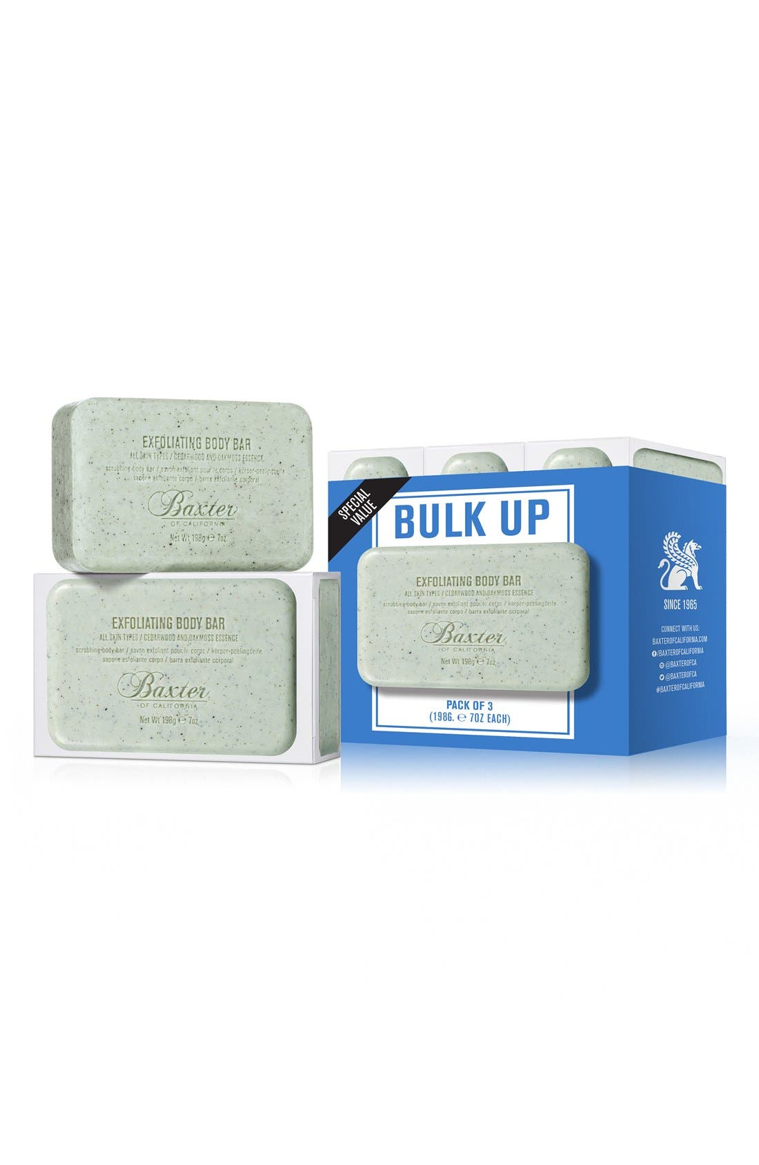 Baxter of California Exfoliating Body Bar Trio ($51 Value)