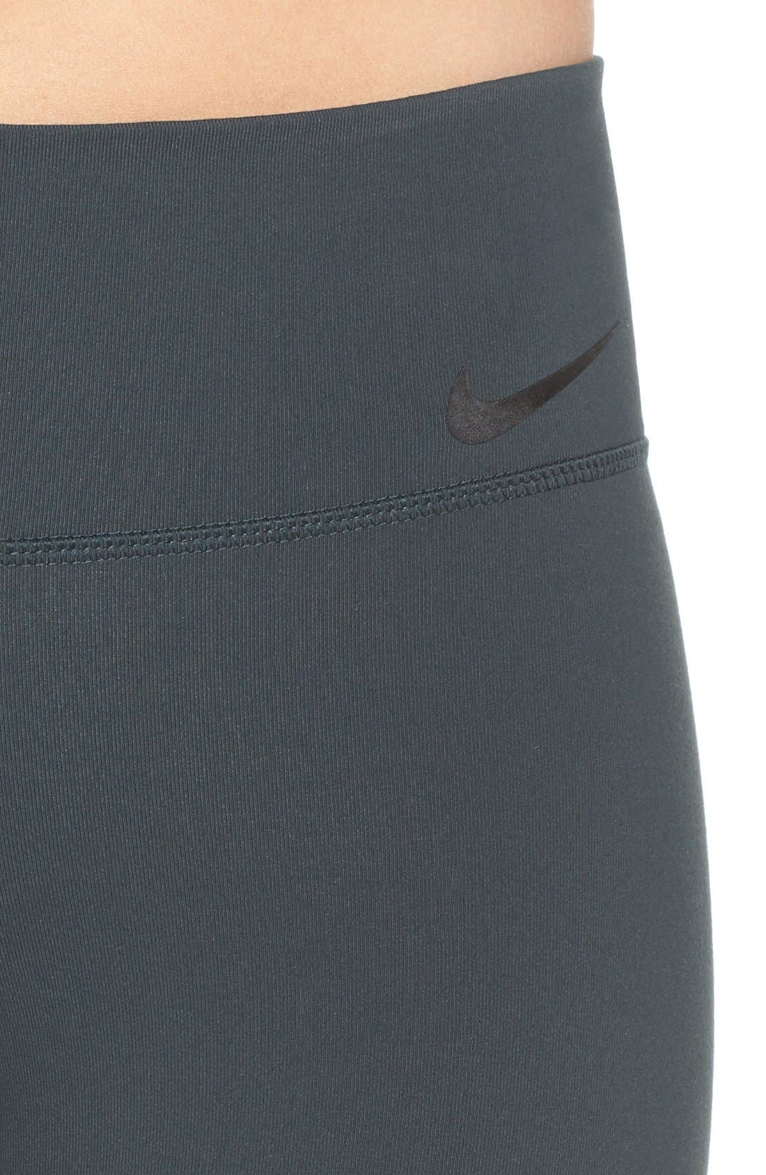Alternate Image 4  - Nike 'Power Legendary' Dri-FIT Training Capris