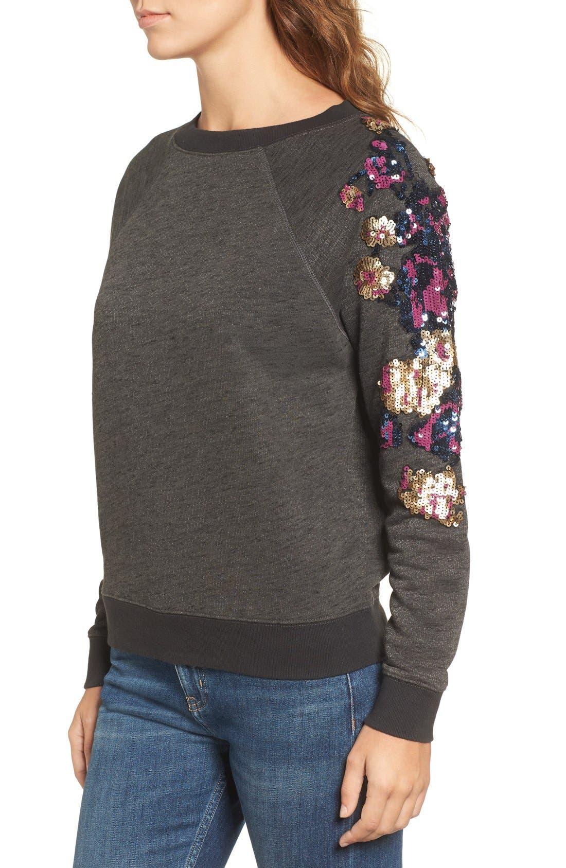 Alternate Image 3  - Rebecca Minkoff Sequin Sweatshirt