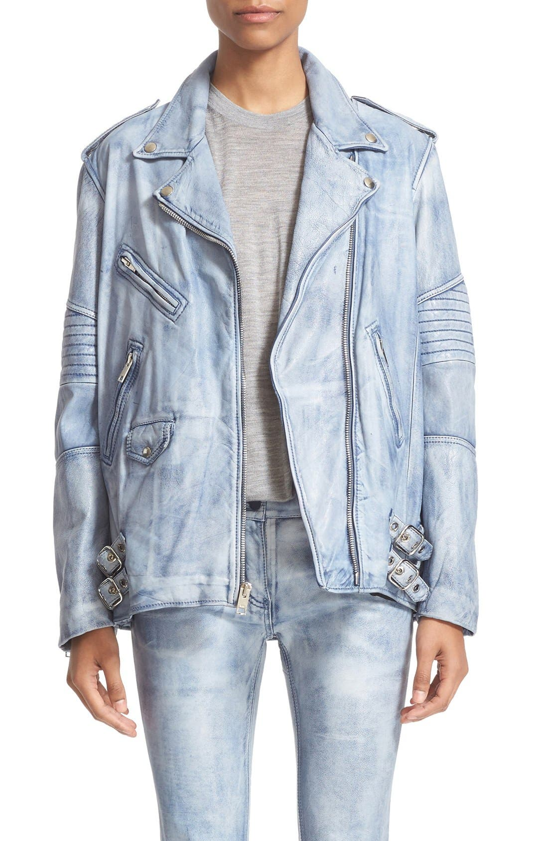ALEXANDER WANG Leather Biker Jacket