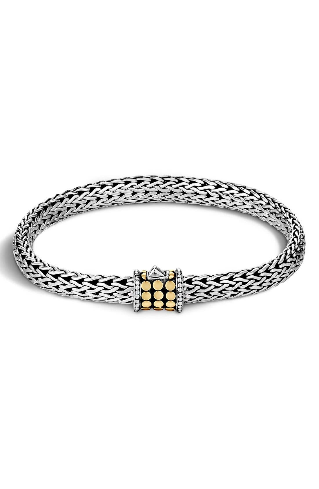 Alternate Image 1 Selected - John Hardy 'Dot' Small Bracelet