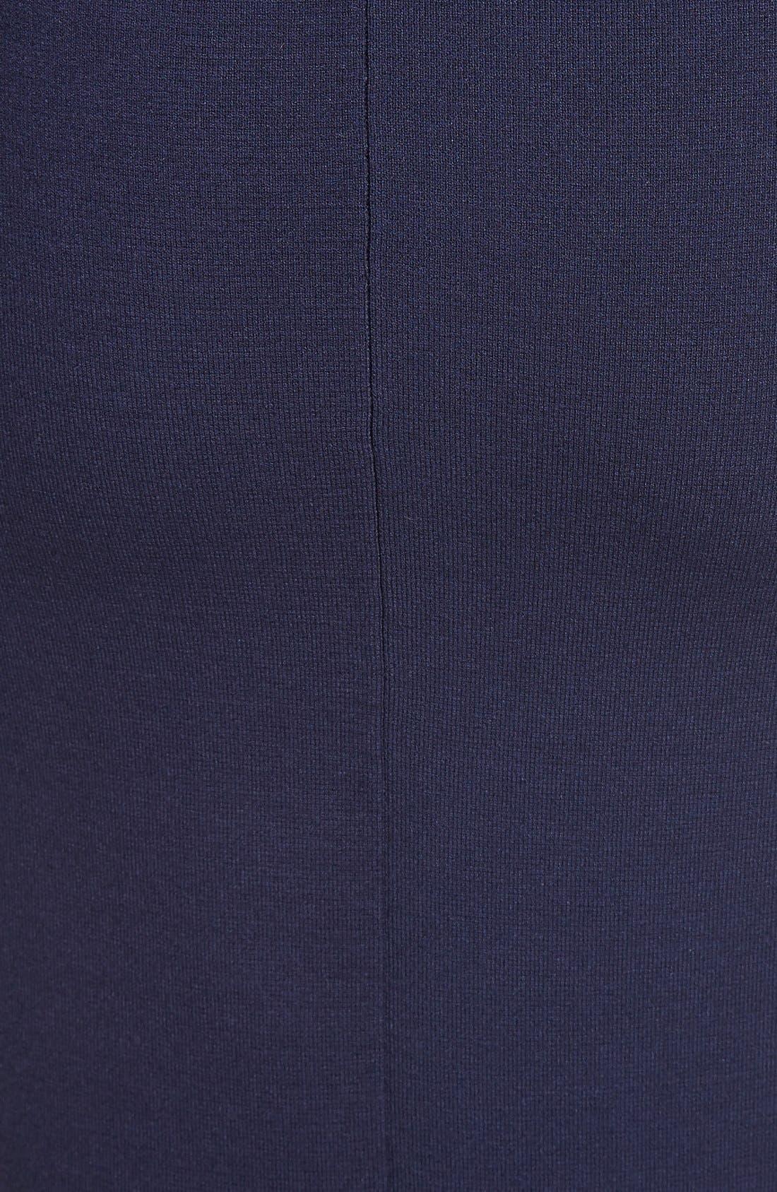 Alternate Image 6  - Milly Stretch Knit Pencil Skirt
