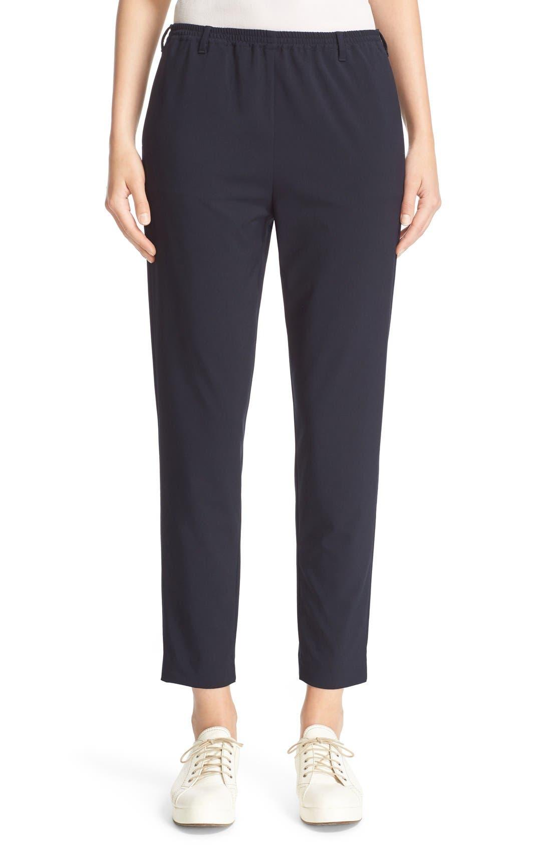 ARMANI COLLEZIONI Armani Jeans Elastic Waist Pants