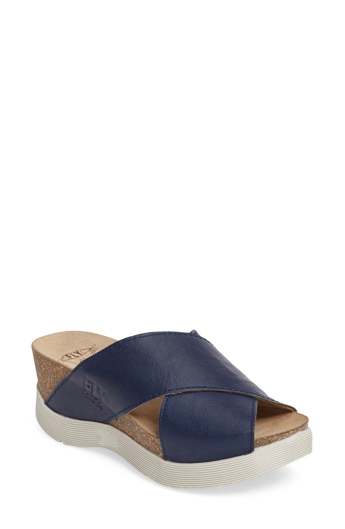 Fly London Wary Platform Sandal (Women)