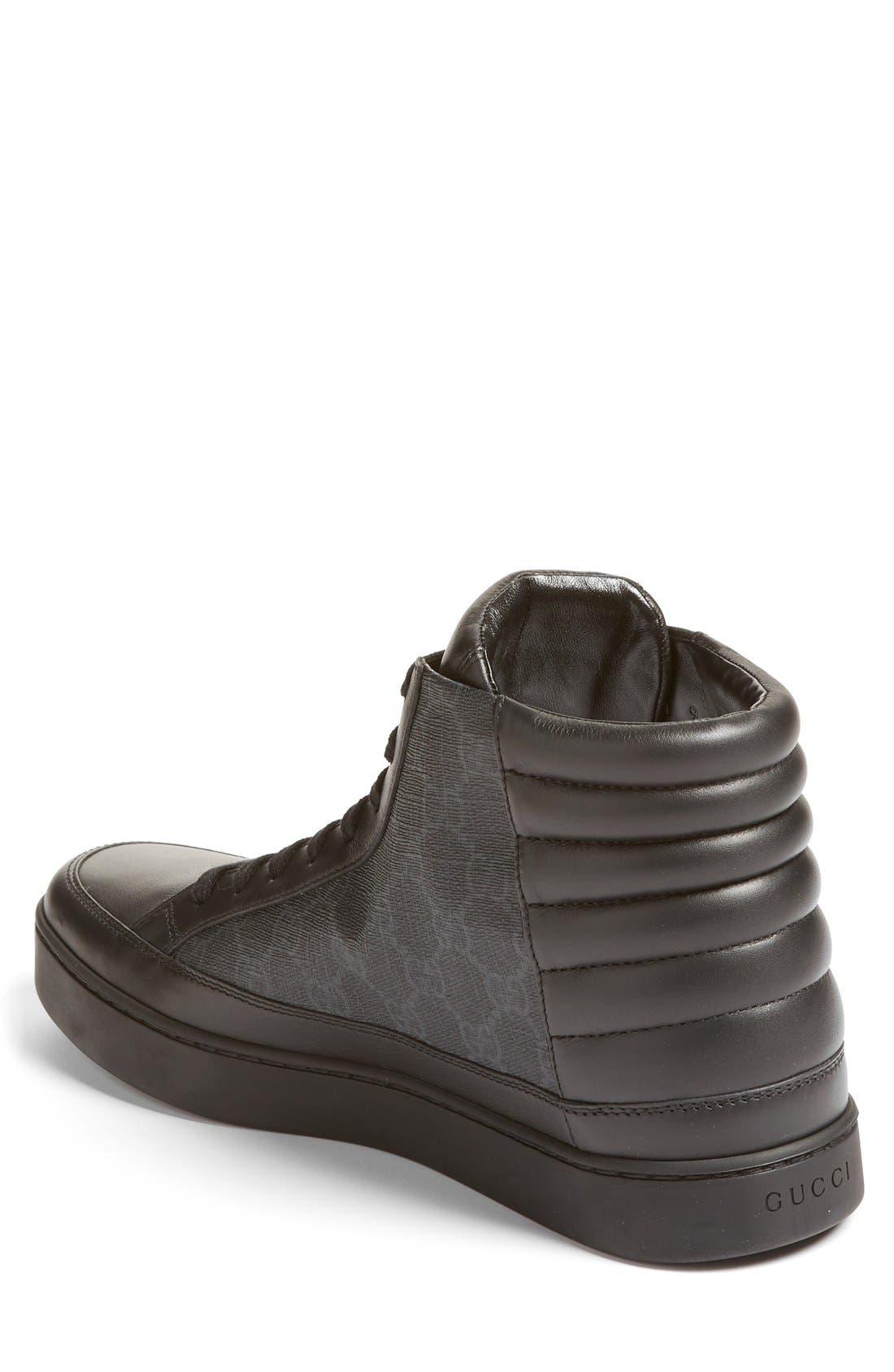 Alternate Image 2  - Gucci 'Common' High Top Sneaker (Men)