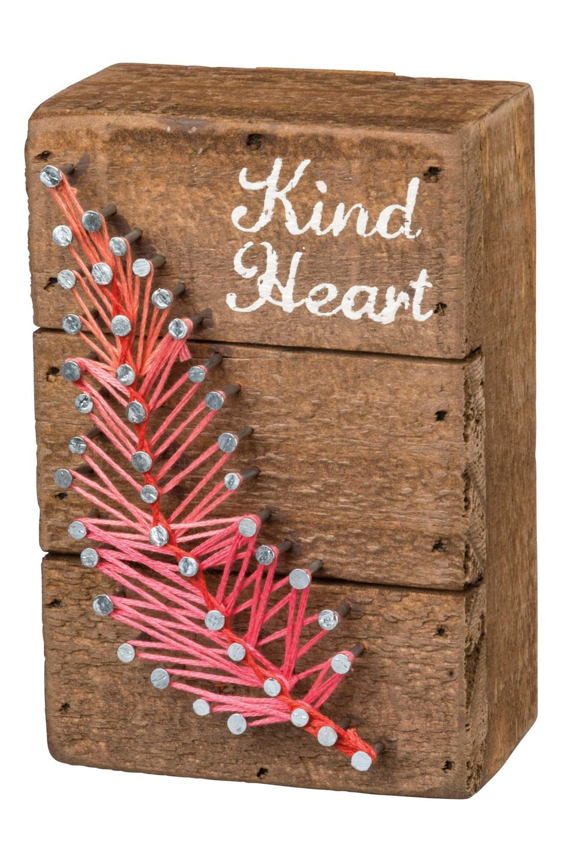 PRIMITIVES BY KATHY Kind Heart String Art Box