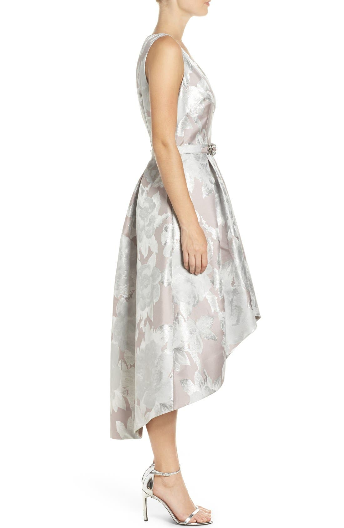 Alternate Image 3  - Eliza J Sleeveless High/Low Dress