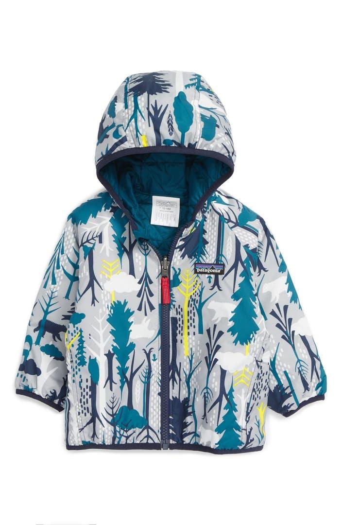 Patagonia Puff Ball Water Resistant Reversible Jacket