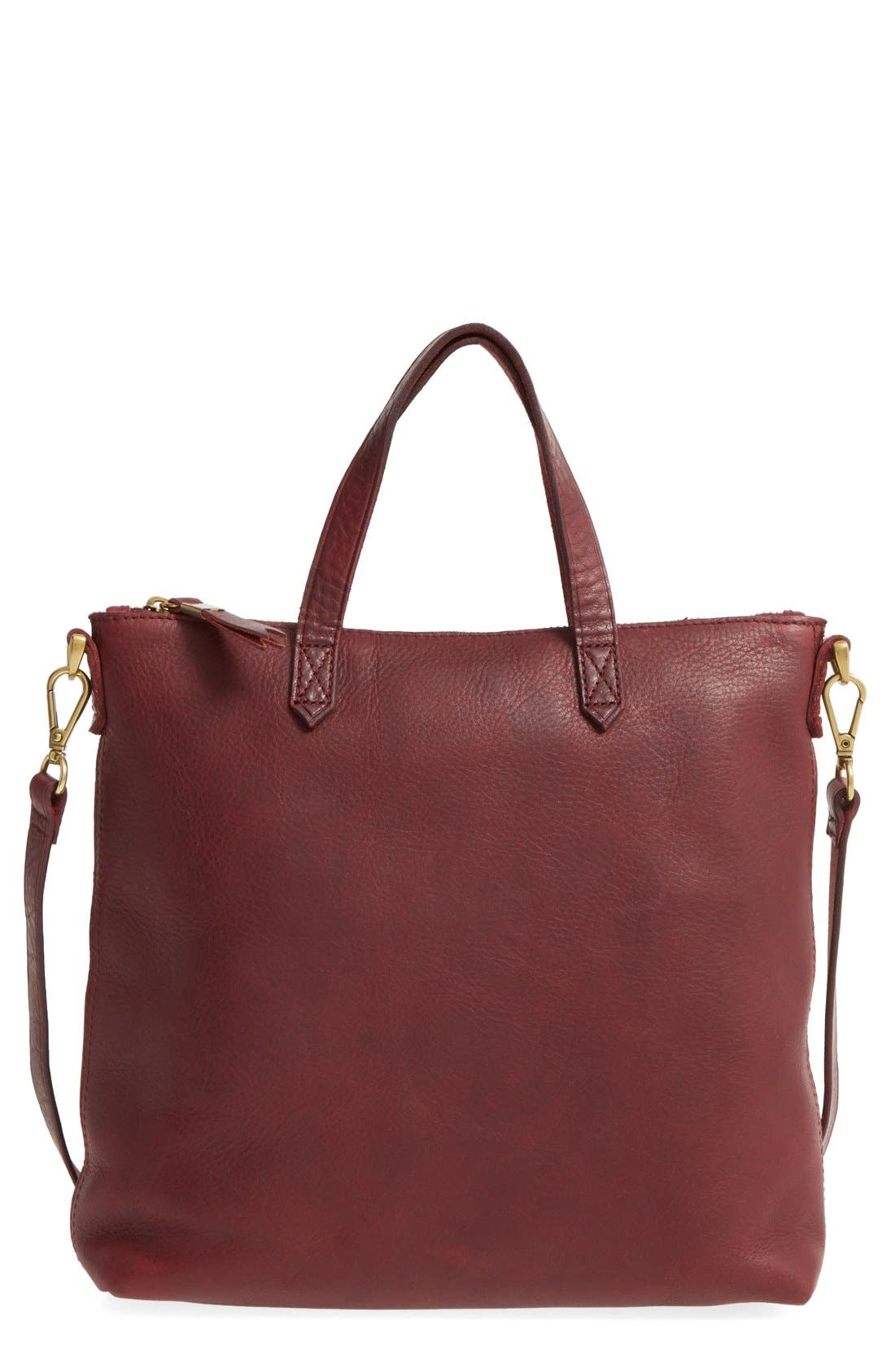 Main Image - Madewell The Transport Leather Crossbody