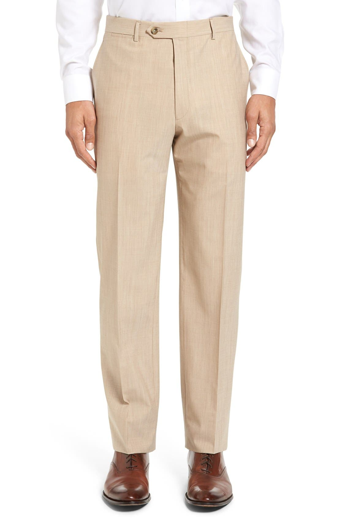 Alternate Image 6  - Hart Schaffner Marx New York Classic Fit Solid Stretch Wool Suit
