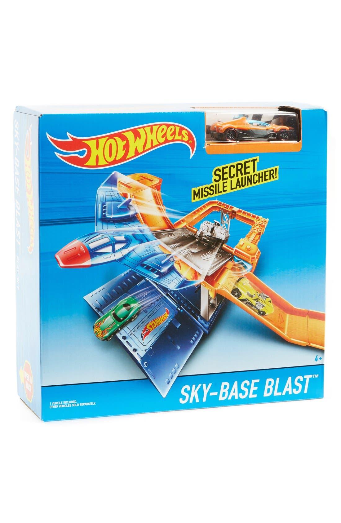 Alternate Image 2  - Mattel Hot Wheels® Sky-Base Blast™ Play Set