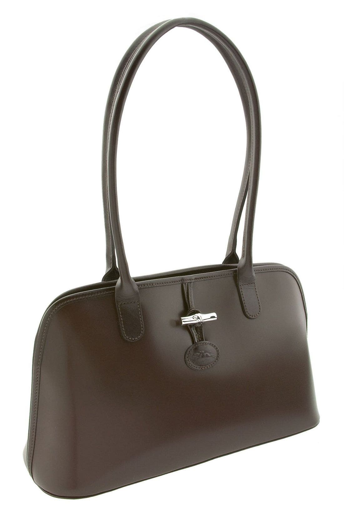 Alternate Image 1 Selected - Longchamp 'Roseau' Dome Satchel