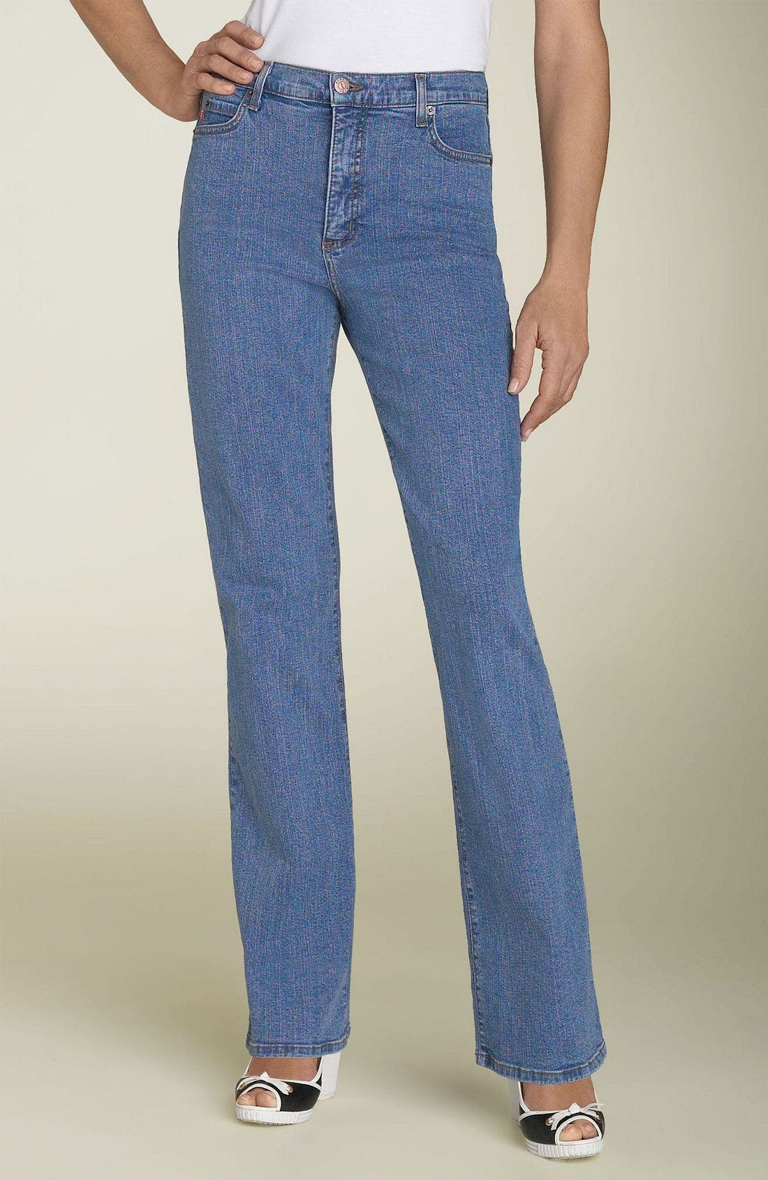 Alternate Image 1 Selected - Not Your Daughter's Jeans Tummy Tuck Stretch Jeans (Petite)