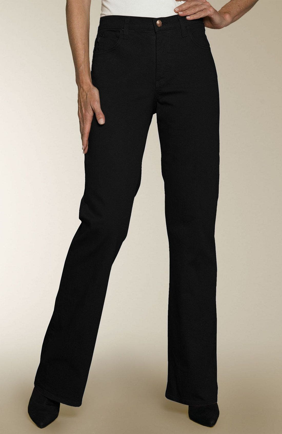 Alternate Image 1 Selected - NYDJ Bootcut Stretch Jeans (Petite)